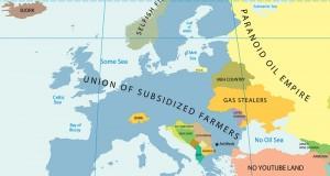 Mapa evrope…