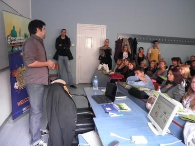 predavanje volonterima BIG-a