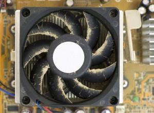 Prašina u ventilatoru