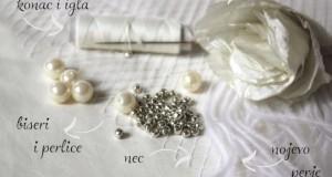 Napravite same ukras za venčanje