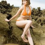 narandžasti kupaći