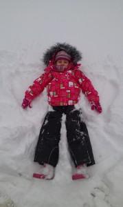 Andjelcici u snegu