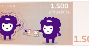 Kupindo zaštita – sada na 1.500 din