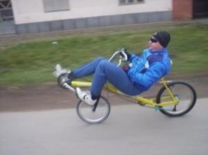 "Ležeći bicikl ""SWB RECUMBENT"""