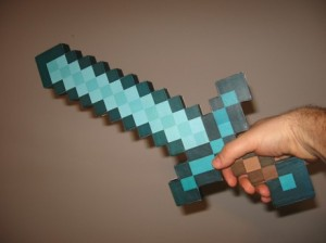 Minecraft mač
