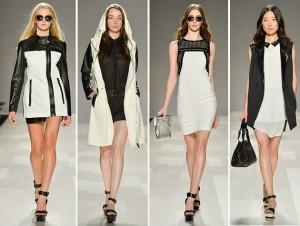 crno bela odeća