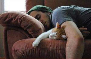 Maca_spavanje