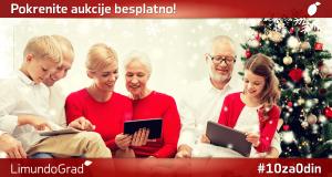 Iskoristite praznike – besplatno postavljanje prvih 10 aukcija