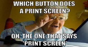 Kako napraviti print screen?