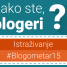 Kako ste, blogeri? Istraživanje #Blogometar15