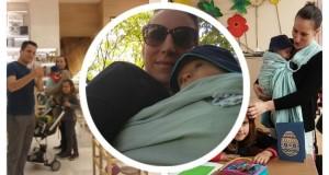 Nošenje beba – neočekivani problemi traže ista takva rešenja