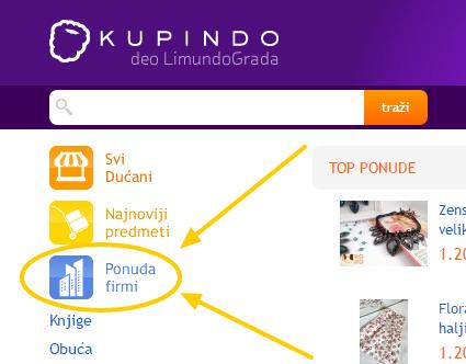 Kupovina preko interneta – Kupindo.com