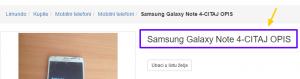Samsung Galaxy Note 4 CITAJ OPIS 48733347