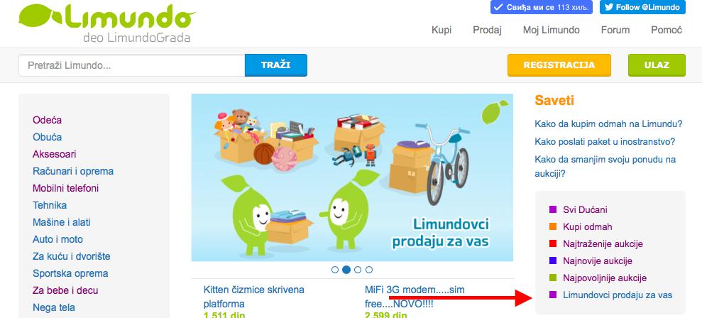 Limundovci_prodaju_za_vas