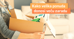 Kako veća ponuda predmeta donosi veću zaradu [iz ličnog ugla]