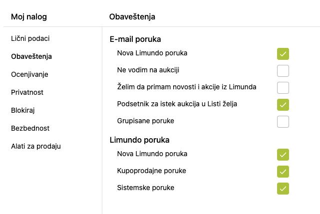 """Moj Limundo/> Moj nalog > Obaveštenja""""/></p></div></div></li><li class="""